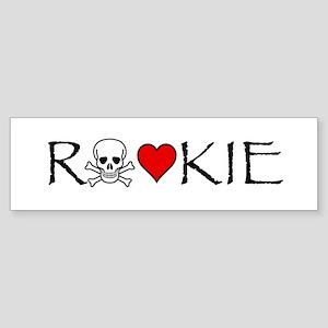 Roller Derby Rookie Bumper Sticker