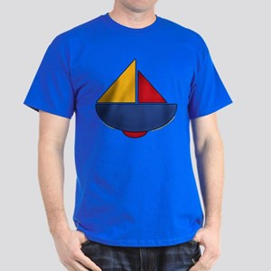 Cute Sailboat Design 2 Dark T-Shirt