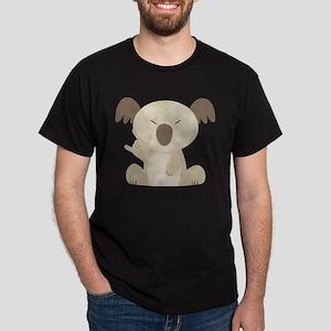 I Love You Koala Dark T-Shirt