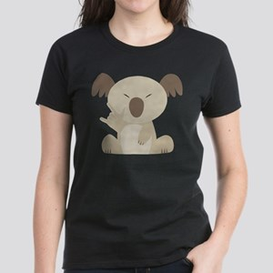 I Love You Koala Women's Dark T-Shirt