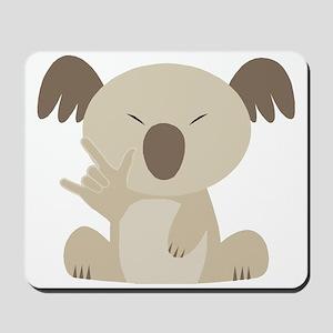 I Love You Koala Mousepad