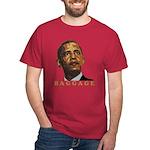 """anti-Obama """"Baggage"""" Dark T-Shirt"""
