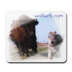 Wolf Web Mousepad
