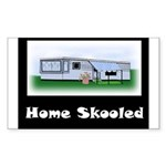 Home Skooled Rectangle Sticker