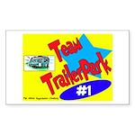 Team Trailer Park Rectangle Sticker