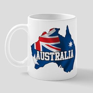 Map Of Australia Mug