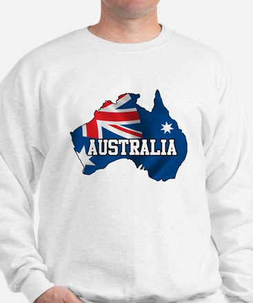Map Of Australia Jumper