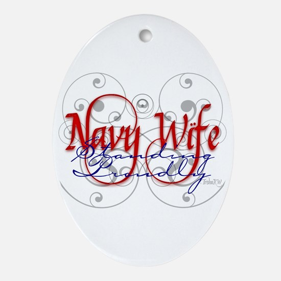 Cute Significant other Oval Ornament