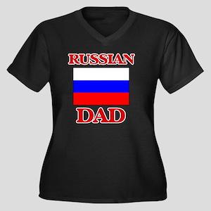 Russian Dad Plus Size T-Shirt