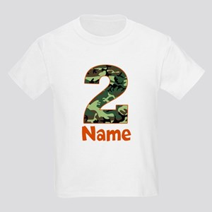 2nd Birthday Camo T Shirt