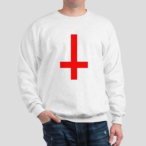 Red Inverted Cross Sweatshirt
