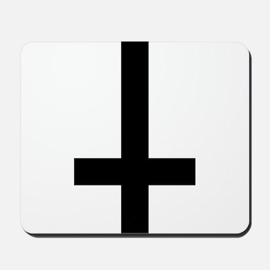 Inverted Cross Mousepad