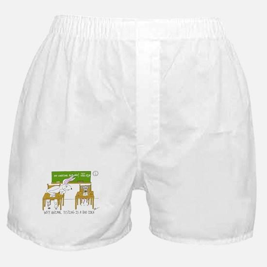 Animal Testing Boxer Shorts