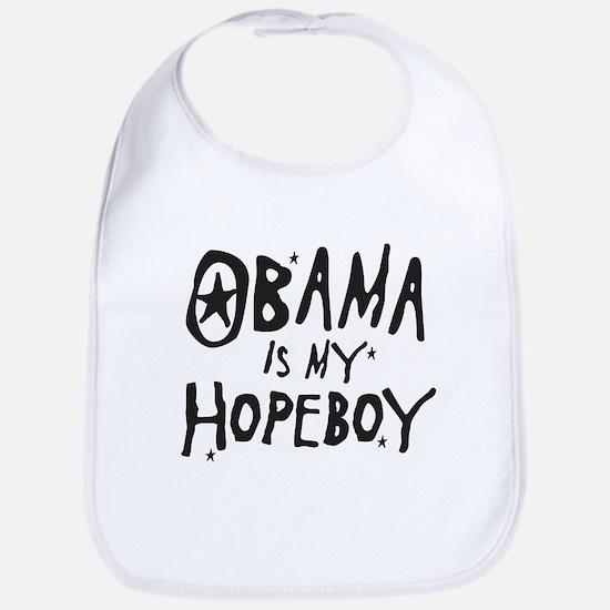 Obama is my Hopeboy Bib