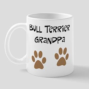 Big Paws Bull terrier Grandpa Mug