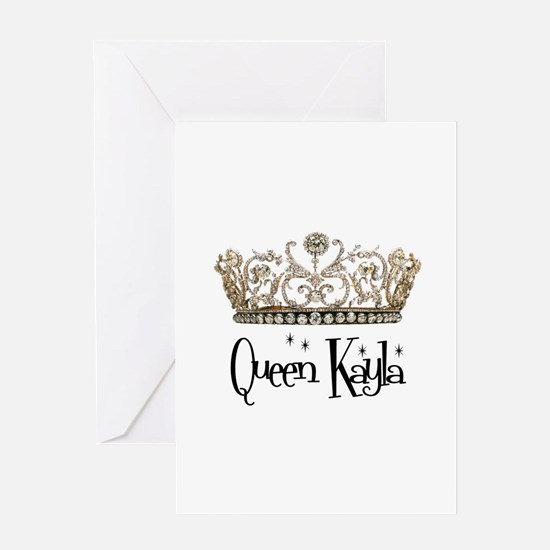 Queen Kayla Greeting Card