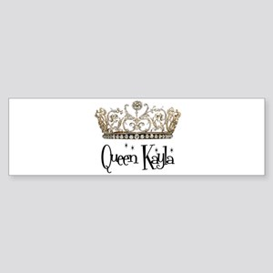 Queen Kayla Bumper Sticker
