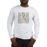 I'm strong in the mirror Long Sleeve T-Shirt