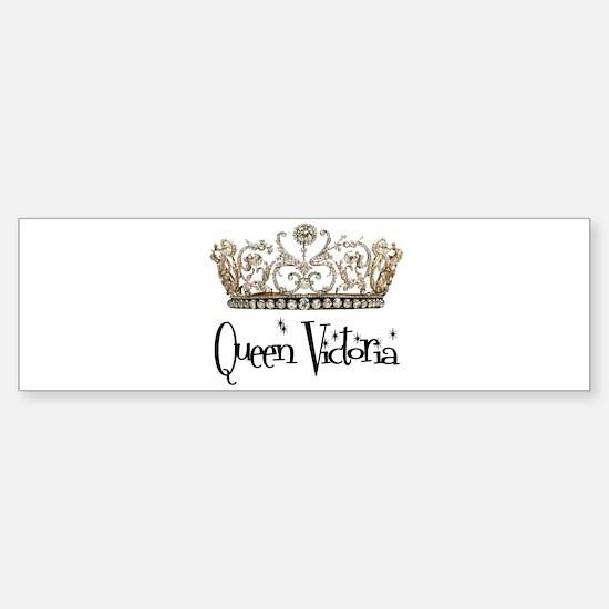 Queen Victoria Bumper Bumper Bumper Sticker