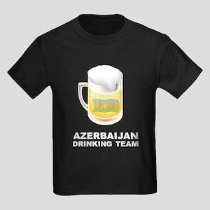 Azerbaijan Drinking Team Kids Dark T-Shirt