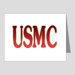usmc Note Cards (Pk of 20)