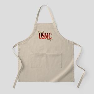 usmc BBQ Apron