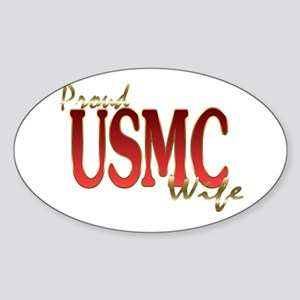 usmc Oval Sticker
