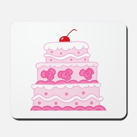 Pink Cake Mousepad