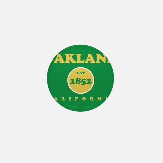 Oakland 1852 Mini Button