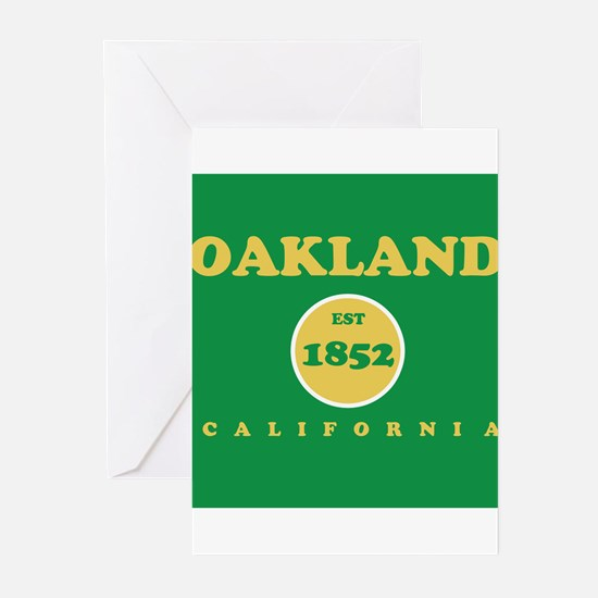 Oakland 1852 Greeting Cards (Pk of 20)