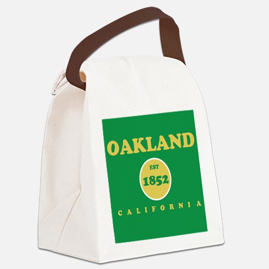 Oakland 1852 Canvas Lunch Bag