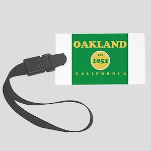Oakland 1852 Large Luggage Tag