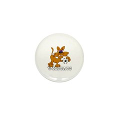 WILDCATS SOCCER Mini Button (10 pack)