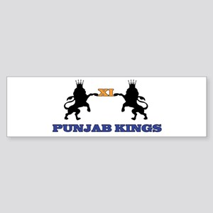 Punjab Kings 11 Bumper Sticker