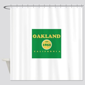 Oakland 1852 Shower Curtain