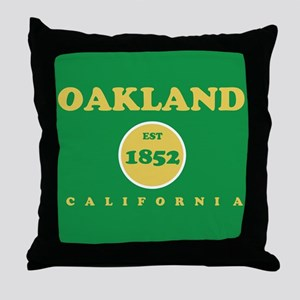 Oakland 1852 Throw Pillow