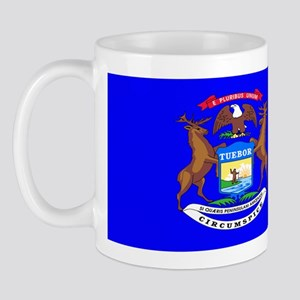 Michigan Blank Flag Mug