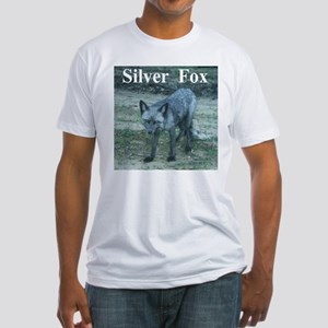 Silver Fox over 50 Fitted T-Shirt