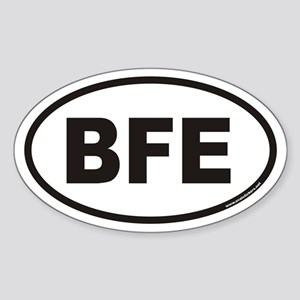 BFE Euro Oval Sticker