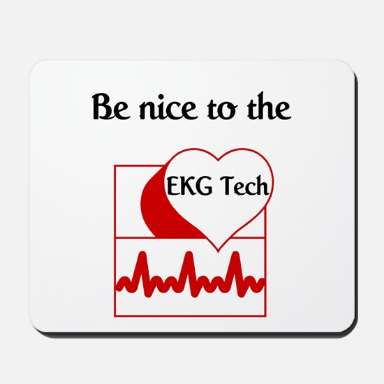 EKG Tech Mousepad
