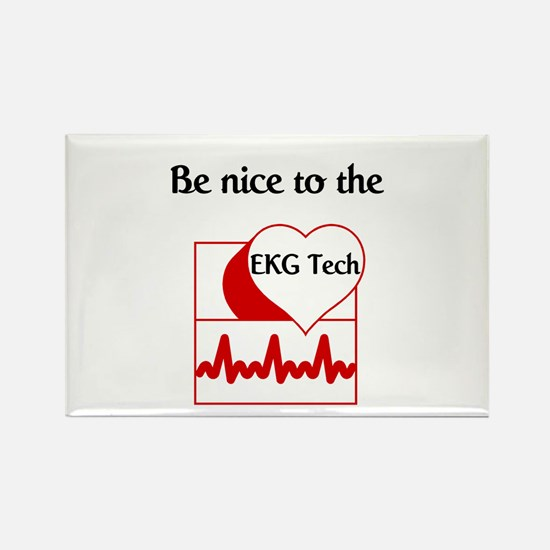 EKG Tech Rectangle Magnet (10 pack)