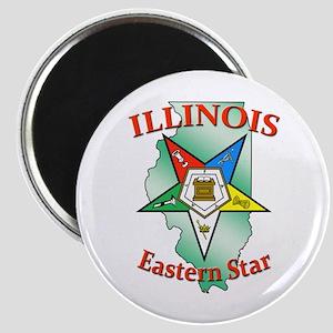 Illinois Eastern Star Magnet