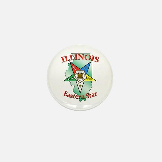 Illinois Eastern Star Mini Button (10 pack)