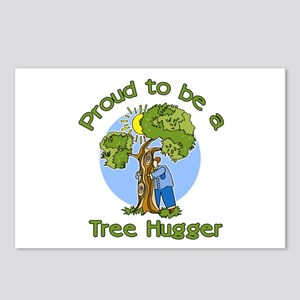 Proud to be a Tree Hugger Postcards (Package of 8)