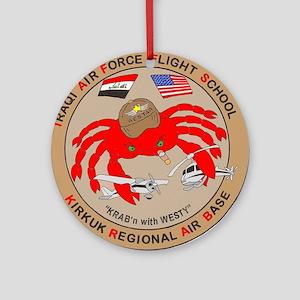 IRAQI FLT SCHOOL Ornament (Round)