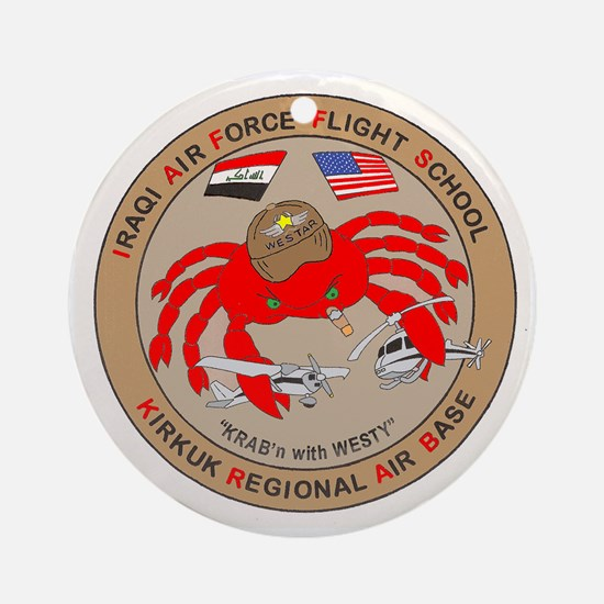 IRAQI FLT SCHOOL Ornament (Round)