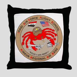 IRAQI FLT SCHOOL Throw Pillow