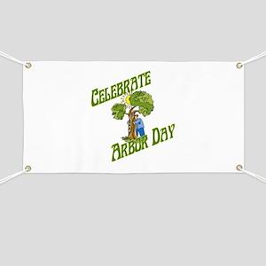 Celebrate Arbor Day Banner