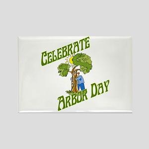 Celebrate Arbor Day Rectangle Magnet