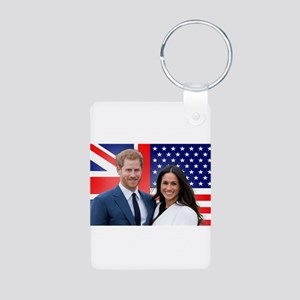Prince Harry and Meghan Markle Royal Wed Keychains